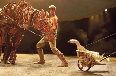 The National Theatre's War Horse. The new Equity network aims to forge closer links between puppeeters and the union. Photo: Brinkhoff/Mogenburg